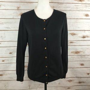 Brooks Brothers Silk Cotton Sweater Cardigan